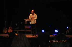Francis Chan at the Brooklyn Tabernacle